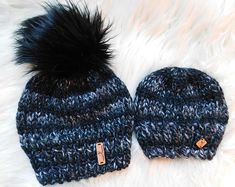 262806688 51 Best Family matching hats images in 2018 | Crocheted hats, Knit ...