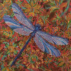 "Saatchi Online Artist: Erika Pochybova-Johnson; Acrylic, Painting ""Infinite Meadow"""