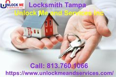 Unlock Me and Services Inc is the best, well known, top class locksmith company that has been recognized as the Tampa's most trusted company because of  high quality locksmith services. They Provides all types of Door Locks, Gargage locks and Car Locks at best price.They provide all types services form key replacement to key repair at one platform only by high qualified and trained professionals..For MOre Info Pls call at 8137601066.