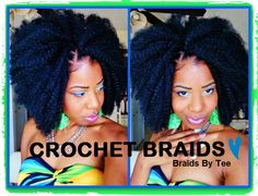 CROCHET BRAIDS: Girrrllll Is That Your Natural Hair?? me: okay I had to share this, cute hair style using MARLEY hair for crochet braids!!