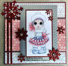 craftliners: Wintermeisje