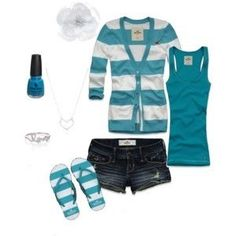 Love the turquoise and the stripes!! Want this so bad!! So cute!!