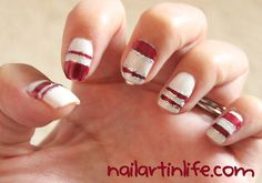 (N)ail (A)rt (I)n (L)ife - just beautiful Christmas Nails, Winter Christmas, Finger Art, Winter Nail Designs, Creative Nails, Nail File, Winter Nails, Nails Inspiration, Beauty Nails