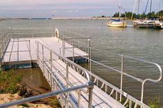 Aluminum Gangway To Floating Dock Favorite Places