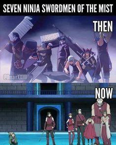 Difference between Naruto and boruto