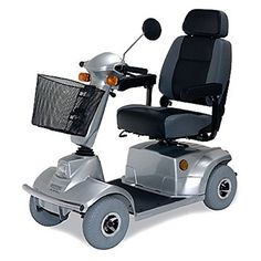 CTM  HS580  MidRange Scooter  4Wheel  Silver * Find out more by clicking the VISIT button http://www.amazon.com/gp/product/B01N2X107S/?tag=buyamazon04b-20&p7h=260217215616