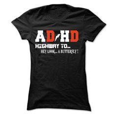 (Tshirt Fashion) So Funny ADHD T-Shirt at Facebook Tshirt Best Selling Hoodies Tee Shirts