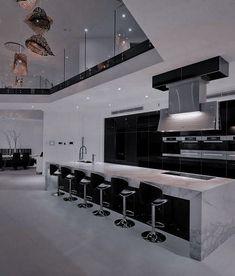 Home Design Decor, Dream Home Design, Modern House Design, Home Interior Design, Dream House Interior, Luxury Homes Dream Houses, Casa Top, Home Building Design, Luxury Kitchen Design