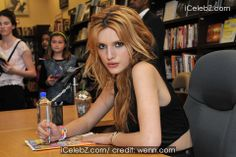 Bella Thorne meets & greets fans at the Barnes & Noble book store http://icelebz.com/events/bella_thorne_meets_greets_fans_at_the_barnes_noble_book_store/photo3.html