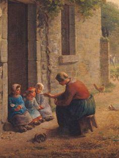 Jean-François Millet. 1814- 1875
