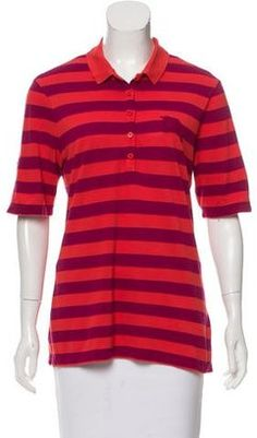 Shop Now - >  https://api.shopstyle.com/action/apiVisitRetailer?id=662248598&pid=uid6996-25233114-59 Burberry Brit Striped Polo Top  ...