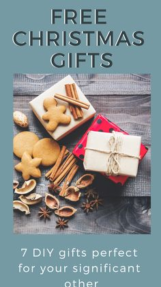 Free Christmas Gifts For Your Significant Other Present Ideas Diy