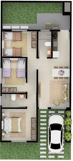 Sims House Plans, House Layout Plans, House Layouts, Sims House Design, Small House Design, House Construction Plan, Small House Floor Plans, Beautiful House Plans, Model House Plan