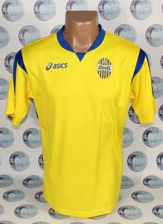 017bdac479 HELLAS VERONA 2012 2013 AWAY FOOTBALL SHIRT JERSEY MAGLIA CAMISETA ASICS M