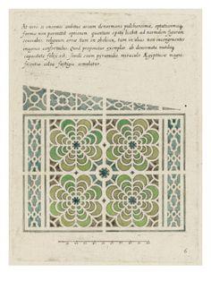Modéle de parterre de jardins. Art.fr - Musée national de la Renaissance (Ecouen) (RMN) - tableaux et affiches pour amoureux d'art