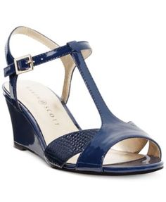 Karen Scott Sabinaa Wedge Sandals $13.86 Quite the special style. The Sabinna wedge sandals are so poised and polished, you'll love finding ways to work them into your wardrobe.