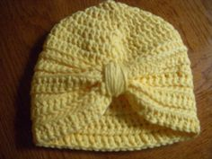Baby Turban by HappilyEverCrafter23 on Etsy, $12.00