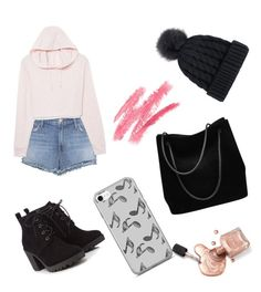 """""""Wtf is this ?!"""" by unicornul ❤ liked on Polyvore featuring J Brand, Music Notes, Red Herring and Gucci"""