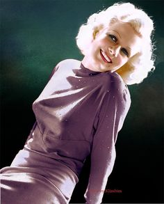Jean Harlow by klimbims on DeviantArt Golden Age Of Hollywood, Vintage Hollywood, Hollywood Glamour, Hollywood Stars, Hollywood Actresses, Classic Hollywood, Hollywood Cinema, Hollywood Icons, Classic Actresses