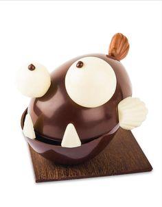 2018 – House Saunion – Jack the piranha. Chocolate Bomb, I Love Chocolate, Modeling Chocolate, Chocolate Art, Easter Chocolate, Chocolate Molds, How To Make Chocolate, Homemade Chocolate, Chocolate Showpiece