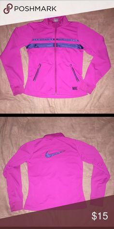 Nike athletic jacket. Like new. Nike Athletic Jacket. Youth Large / 14 Nike Shirts & Tops Sweatshirts & Hoodies