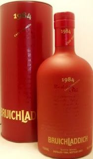 Whisky merchants: Bruichladdich Single Malt Whisky Redder Still 1984 50.4% 70cl