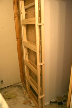 Exceptionnel Installing A Pocket Door  DIY  For Our Very Narrow Entrywayu0027s Closet  No  More