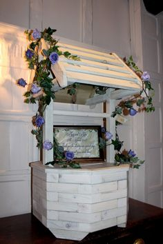Wishing well and postbox for wedding in Hertfordshire | Wedding DJ ...