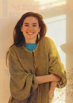 Young Jennifer Connelly Likes is listed (or ranked) 14 on the list 26 Pictures of Young Jennifer Connelly Jennifer Connelly Young, Requiem For A Dream, Teenage Years, Curvy Outfits, Vogue, Child Models, Beautiful Actresses, 90s Fashion, Girl Fashion