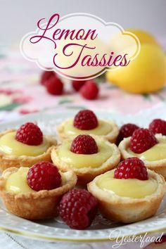 Yesterfood : Lemon Tassies
