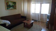 Apartament 2 camere de inchiriat Bacau- zona cora-decomandat-complet utilat si mobilat Sofa, Couch, Curtains, Furniture, Home Decor, Settee, Settee, Blinds, Decoration Home