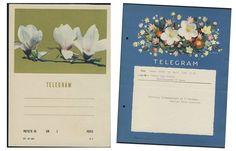 vintage telegrams