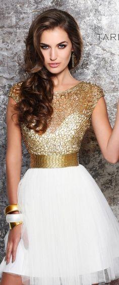 dourado e branco é puro luxo