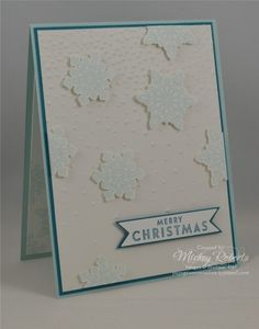 Flurry of Wishes in Tropical Blues by mickeyinpsj - Cards and Paper Crafts at Splitcoaststampers