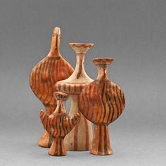 Ancient Greek Terracotta Figurines 4 Pieces by OldSecrets on Etsy