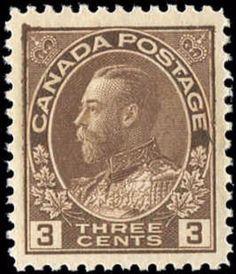 Canada #108, VF, MNH