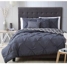 Avondale Manor Ella Pinch Pleat Reversible 7-piece Comforter Set | Overstock.com Shopping - The Best Deals on Comforter Sets