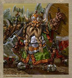 Dwarf Clansmen: Warhammer Fantasy