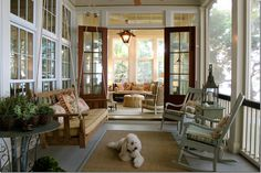 screened in porch