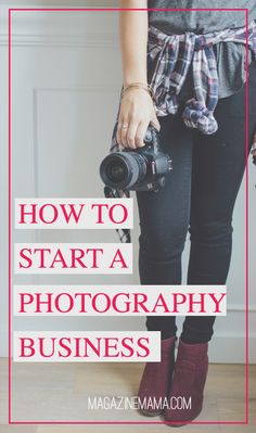Starting a photography business is not as easy as it seems. You could be the best photographer in the world, but you still need to know how price your products and market yourself. Here are five quick tips to keep in mind when starting a photography business. http://www.magazinemama.com/blogs/editors-blog/26778628-how-to-start-a-photography-business