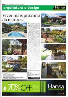 104° Jornal Bom Dia -Viver mais próximo da natureza- 23-08-13