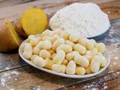 Homemade Gnocchi - Cooks and Eats- A traditional Italian Dumpling that can be made ahead of time, frozen, and enjoyed later! Pecorino Cheese, Grated Cheese, Cubed Potatoes, Food Mills, Snack Recipes, Snacks, Hungarian Recipes, Dumpling, Pasta Dishes