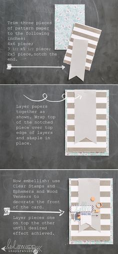 How to Save Money on Scrapbook Supplies – Scrapbooking Fun! Project Life Scrapbook, Project Life Cards, Project Life Baby, Scrapbook Supplies, Scrapbook Cards, Lovely Tutorials, Heidi Swapp, Scrapbook Embellishments, Book Projects