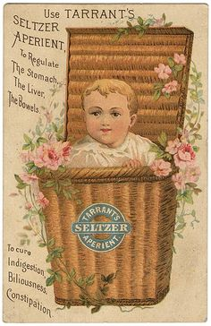 Tarrants Seltzer Aperient Victorian Trade Card.