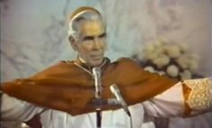"""A Man on a Cross"" Fulton Sheen - Catholic Sistas John 6 35, Fulton Sheen, Matthew 4, Man Down, Communism, Roman Catholic, Spiritual Growth, Philosophy, Religion"