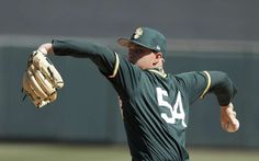 Gray expected to return to A's soon, OF acquired from Angels  -  April 24, 2017:     FILE - In this Tuesday, March 7, 2017, file photo, Oakland Athletics' Sonny Gray throws during the first inning of a spring training baseball game against the Arizona Diamondbacks in Scottsdale, Ariz. Ace right-hander Gray had high hopes for a fast start after the frustration of last season. Now, he's hurt again and will begin the season on the disabled list. (AP Photo/Darron Cummings, File)