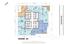 Billedresultat for mahanakhon tower apartment floor plan   Højhuse ...