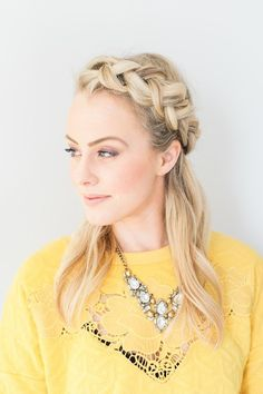How to do the braided crown