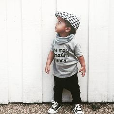 """""""Love this hat from @juniorbabyhatter new collection! A gorgeous selection of monochrome loveliness! All beautifully handmade too. Go have a look, they are…"""""""
