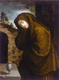 Magdalena Autor desconegut, Veneto s.XVII Pinacoteca de Bari